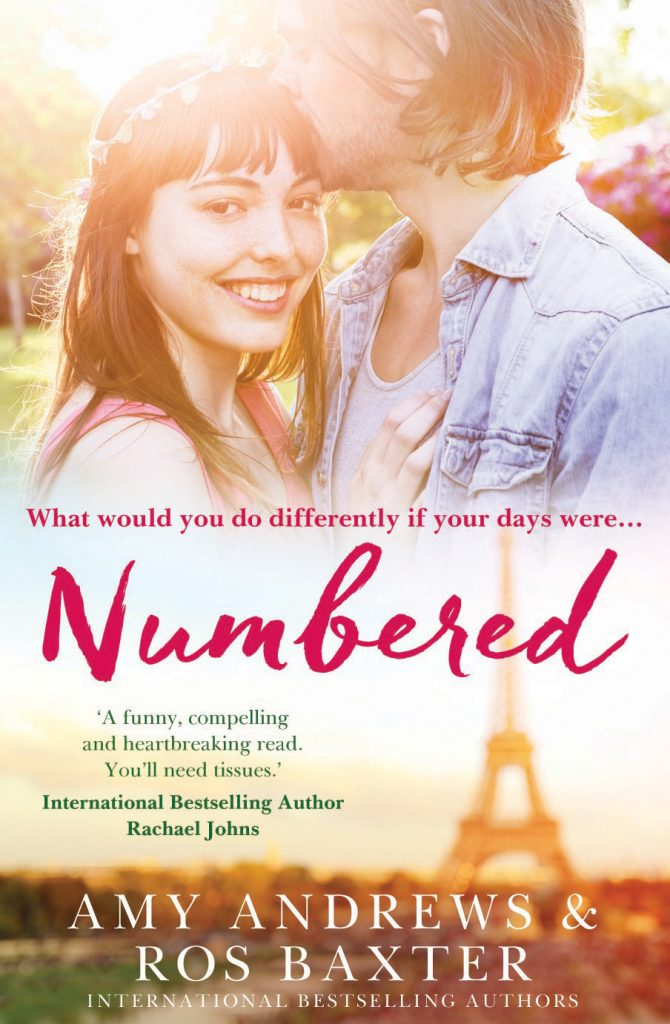 Front cover of Numbered by Amy Andrews & Ros Baxter.