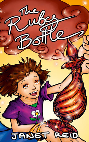 Cover of The Ruby Bottle by Janet Reid.