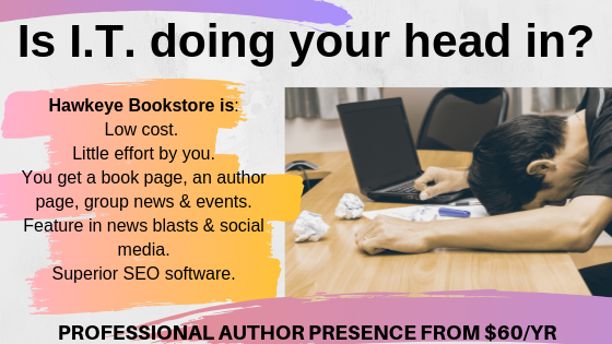 Authors - get a professional online presence for just $60/yr