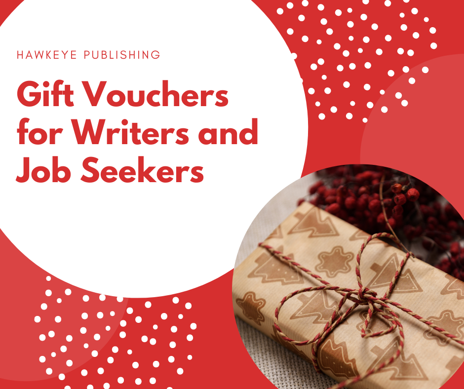 Gift Vouchers for Writers and Job Seekers