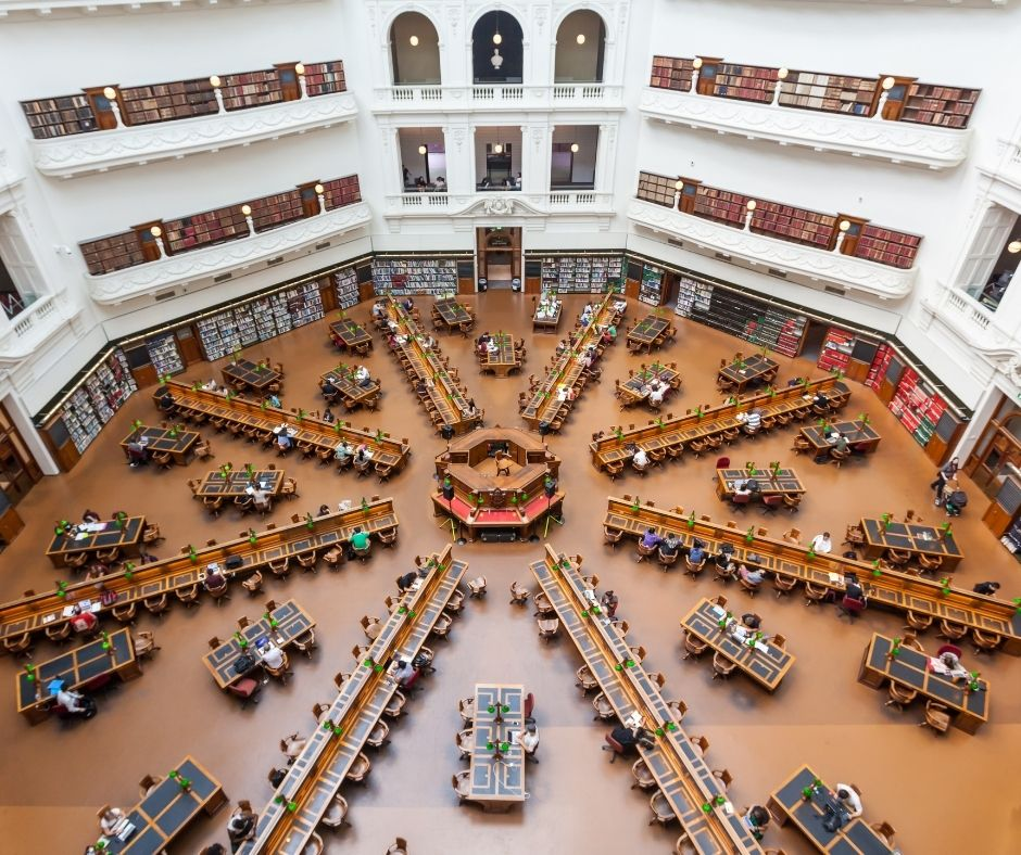 State Library of Victoria interior