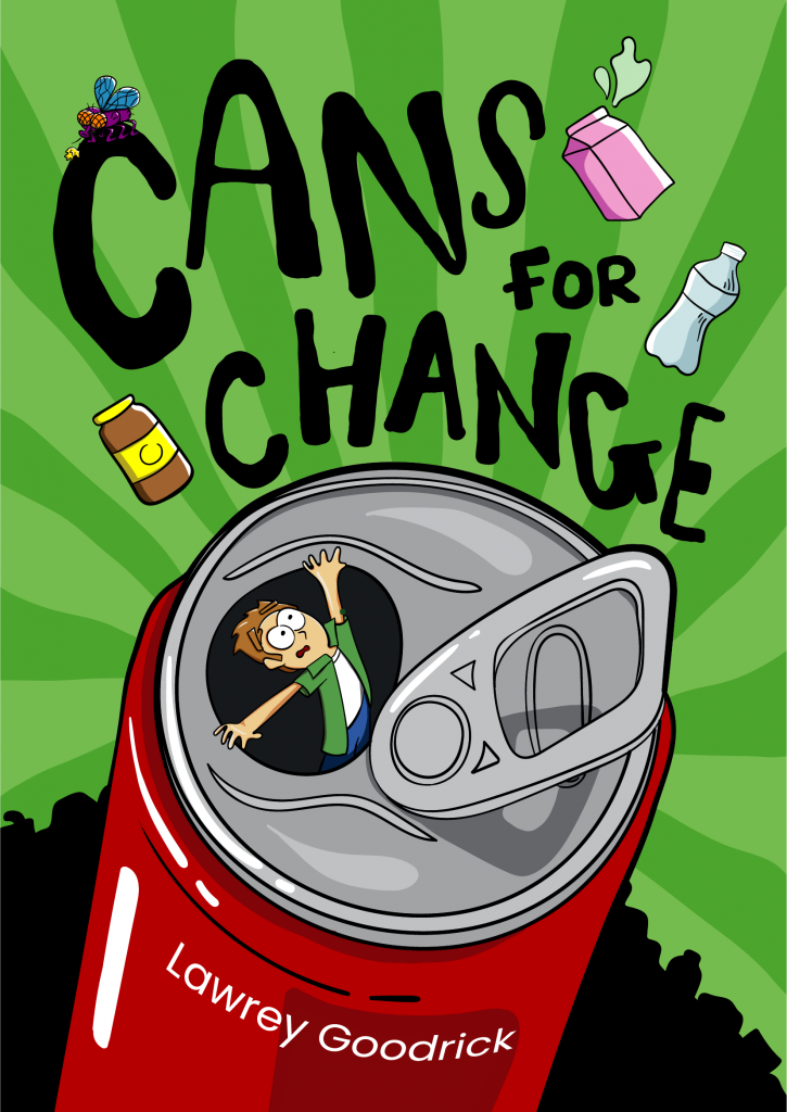 Front cover for Cans for Change