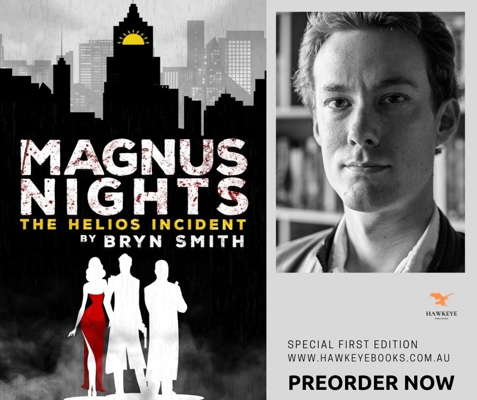 Competition! Have your name written into Bryn Smith's next novel.